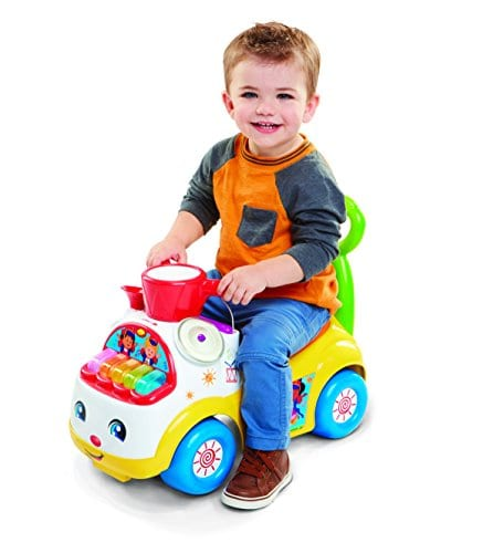 Little People Fisher-Price Music Parade Ride On, Sit On Ages 1-3