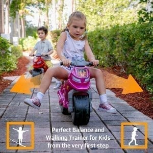 Toddler Walk Balance Trainer Ride on Indoor Outdoor Motorcycle