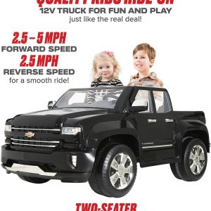 Chevy Silverado Truck Ride On Toy