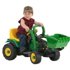 John Deere Mini Power Loader by Peg Perego for 2 to 4 Year Olds