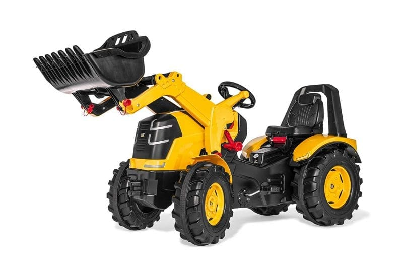 pedal construction tractor loader ride-on toys girls boys