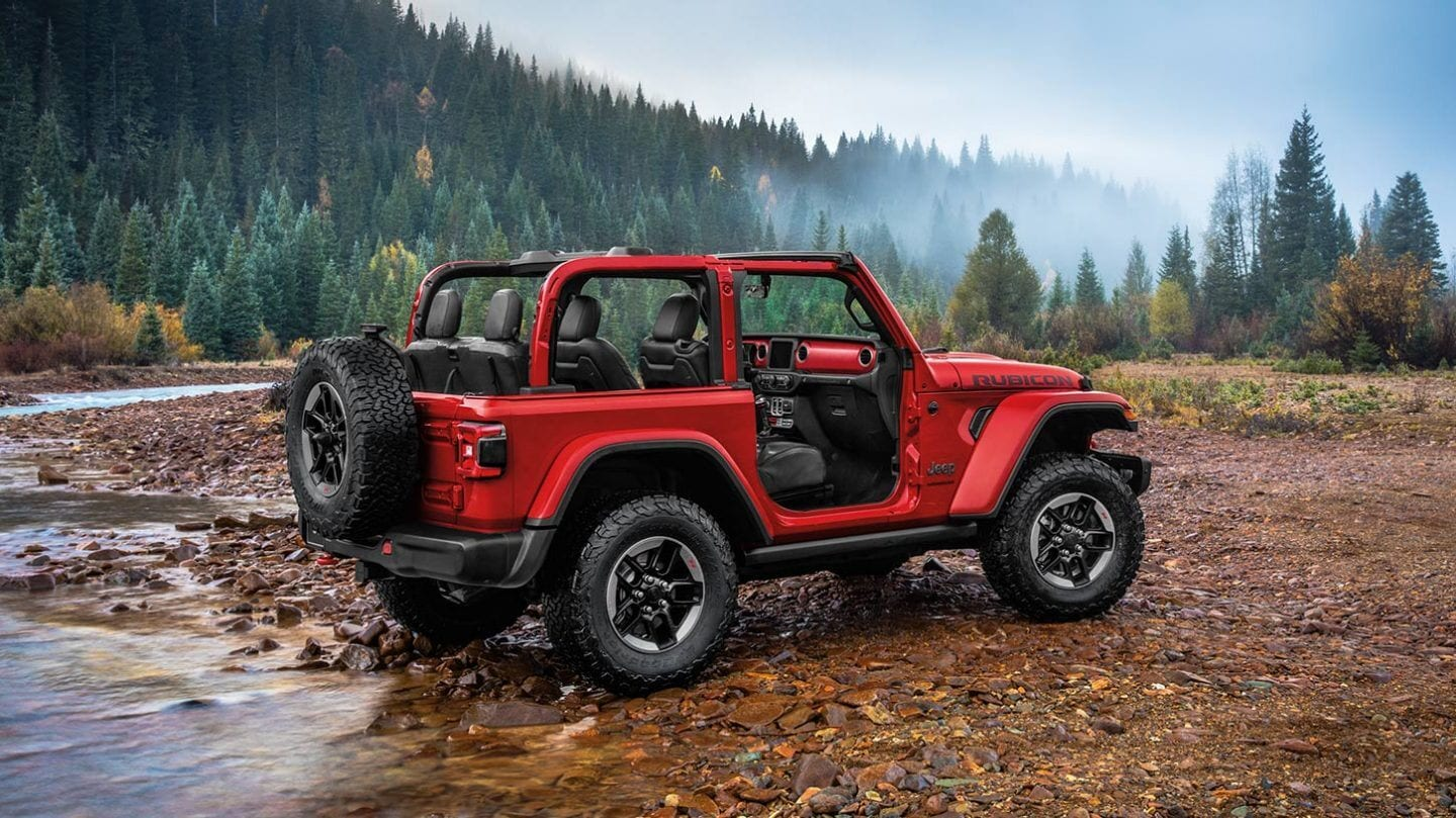 Compare Your Ride On Toy Jeep Wrangler to the Real Jeep Wrangler